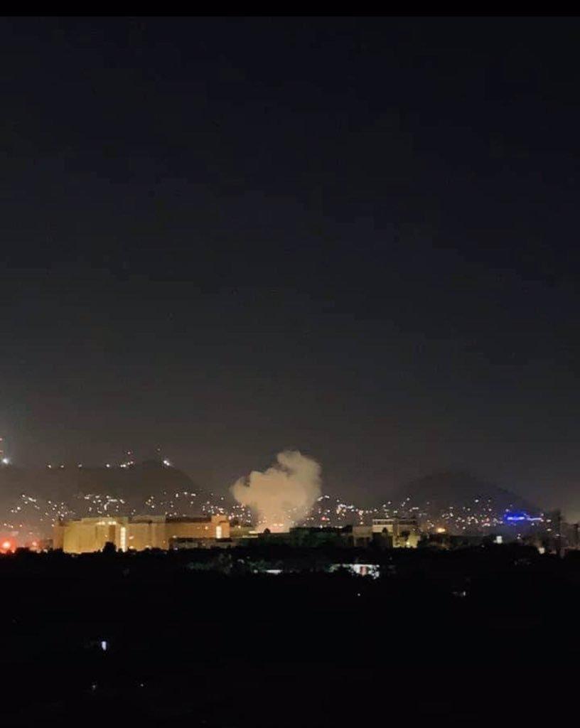 美驻阿富汗大使馆附近发生爆炸,正值9·11恐袭18周年